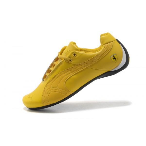 chaussures puma jaune